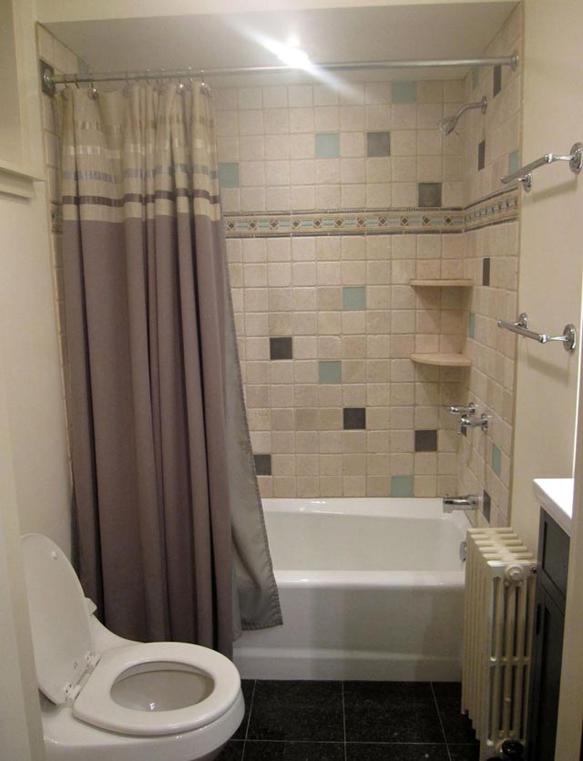 Bathroom Remodel Bath Jack Edmondson Plumbing And Heating - Small bathroom tub shower remodel