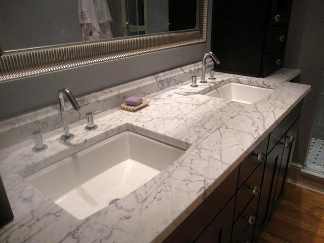 Bathroom remodel double sink jack edmondson plumbing for Bathroom sink remodel ideas