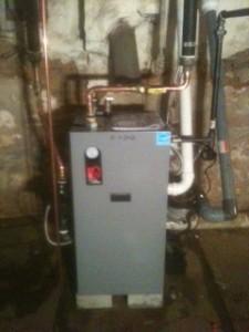 Nice clean, high efficient boiler