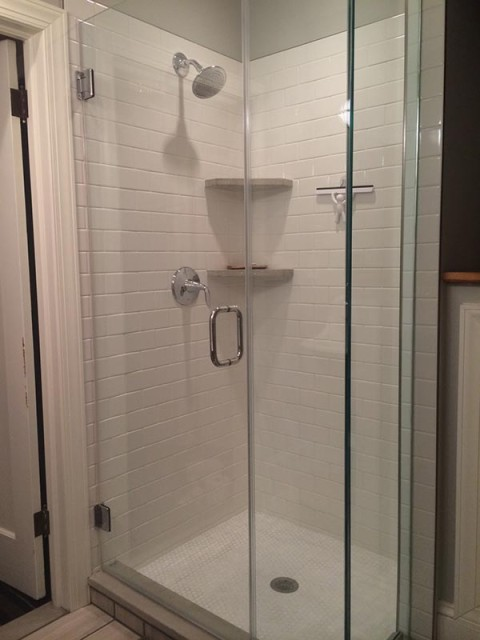 Kitchen remodel shower stall jack edmondson plumbing and heating Bathroom design shower over bath