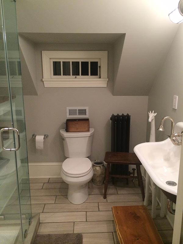Bathroom Remodeling Under Double Sink Jack Edmondson Plumbing And - Bathroom remodel plumber
